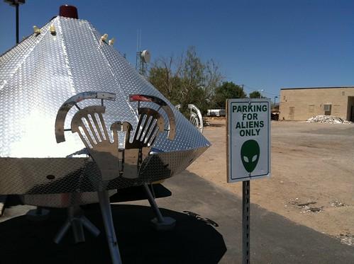Parking for Aliens