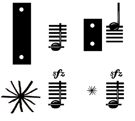 Xylophone Bars Versus Anuses