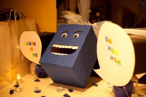 Damon's Card Box Monster!