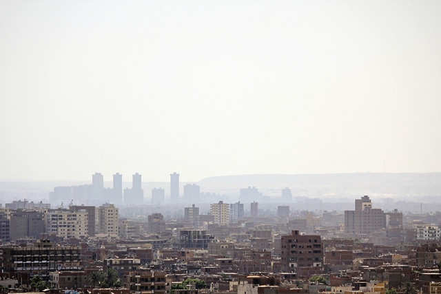 city view from giza