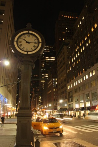 5th Ave at night