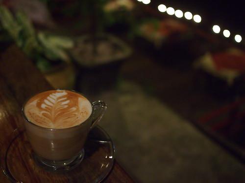 Latte, Saffron, Luang Prabang