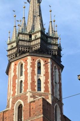 Trompetista en la torre