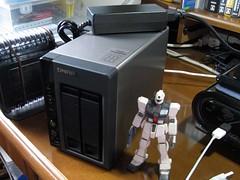 20110907:万能定番NAS:QNAP TS-219P+ Turbo NAS