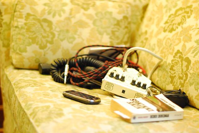 still life with musician