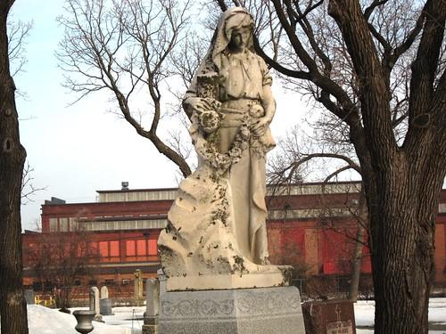 Cemetry Statue
