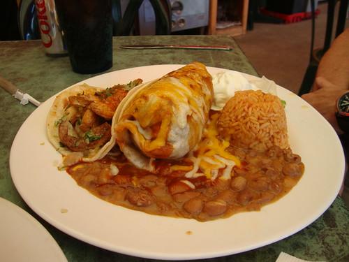 Burrito and Taco