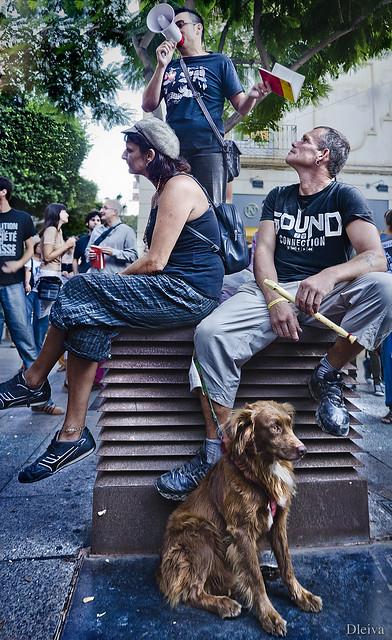 #spanishrevolution (Almería, 2 de Septiembre de 2011)
