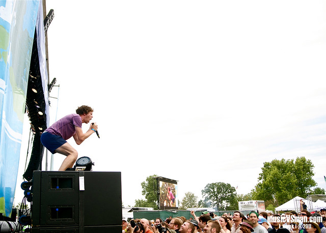 !!! @ LouFest 2011