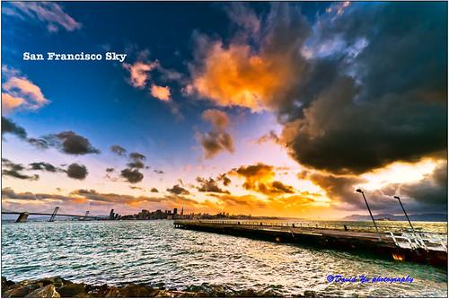San Francisco sky by davidyuweb
