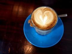 Latte, Jimmy Monkey Café & Bar, One-North Residences