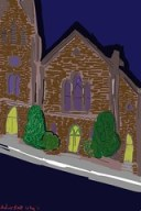 Brushes Painting: first Church