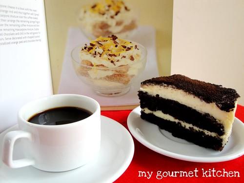 tiramisu & coffee