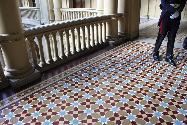 Casa Rosada Floor