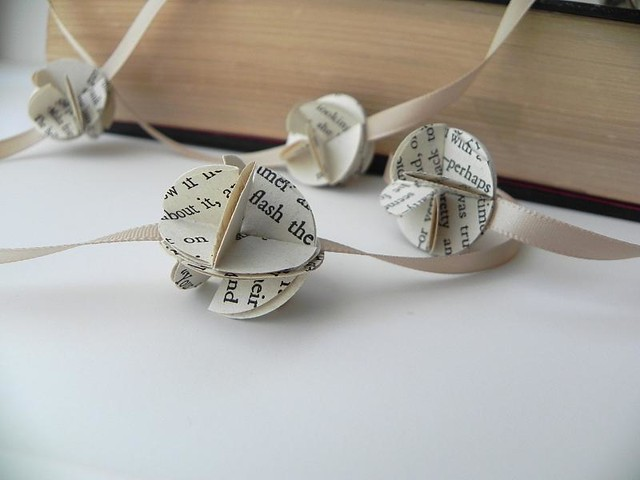 Book Flower Garland