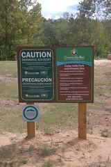Swimming Caution