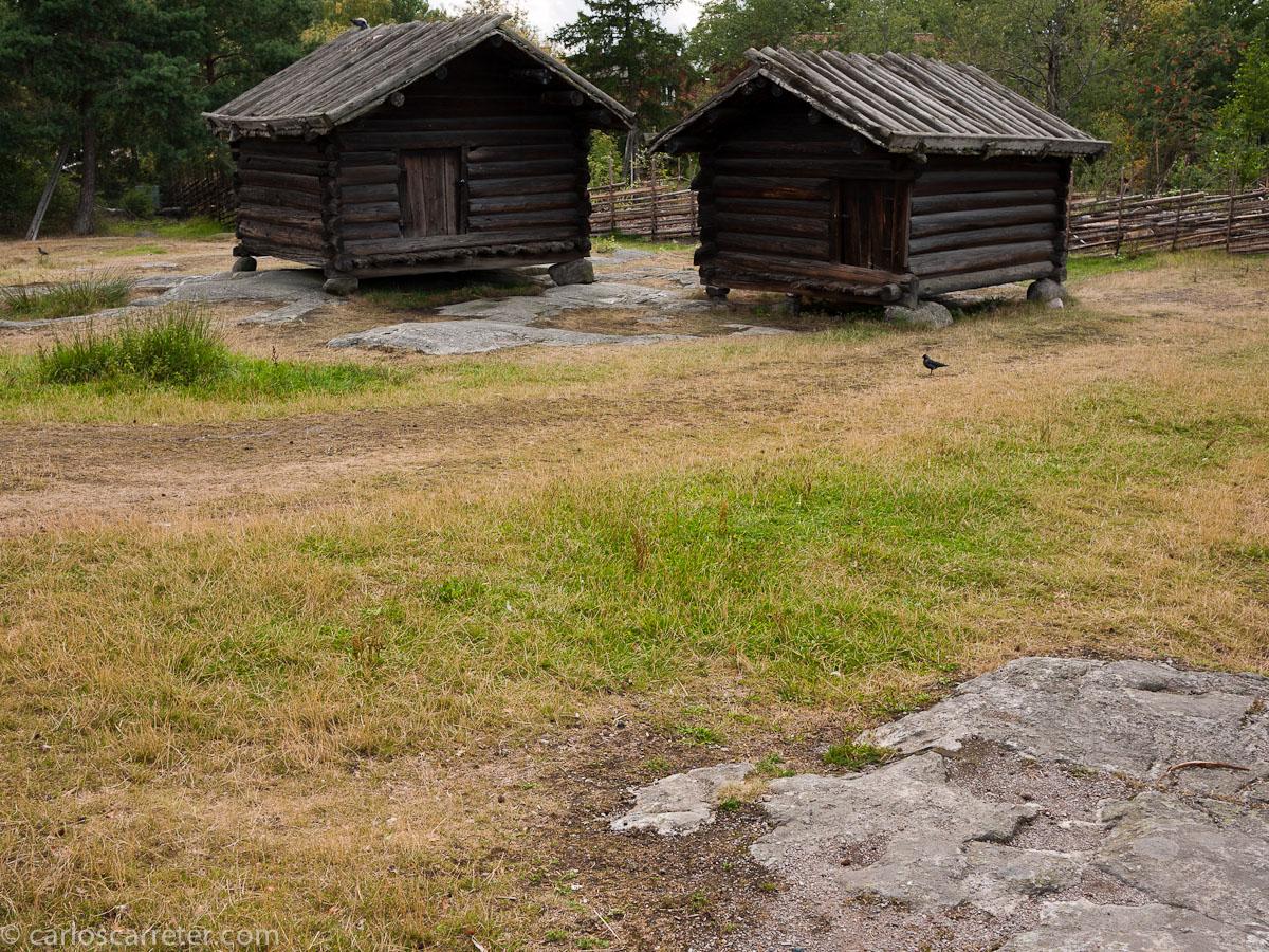 Cabañas samis (Skansen)