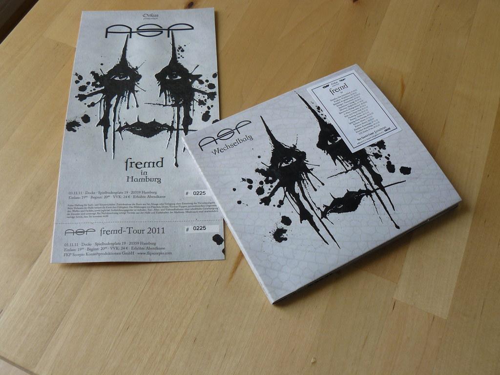 Die Wechselbalg CD und die neuen Tour-Tickets