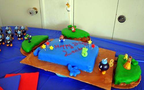 Landon's cake
