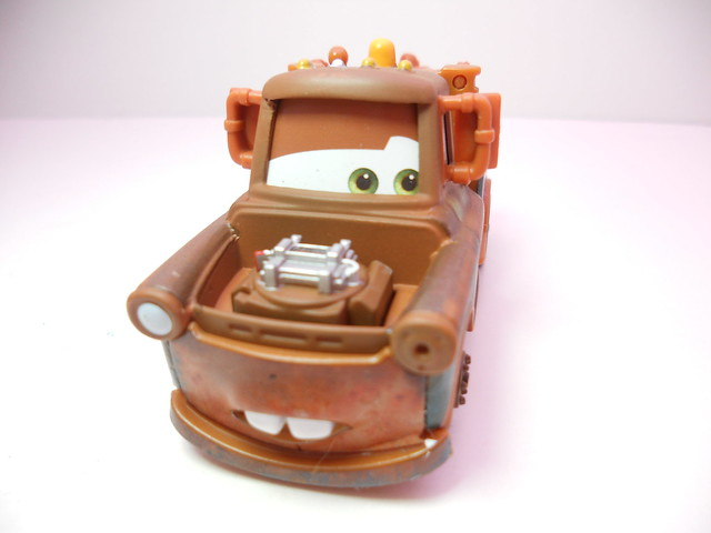 disney cars 2 mater with bomb