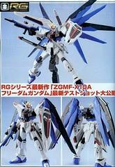 RG 1/144 ZGMF-X10 Freedom Gundam