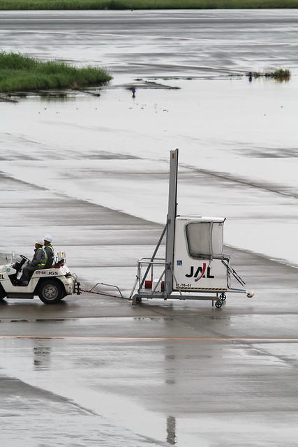 Mechanical Lift - 小型機専用車椅子リフト