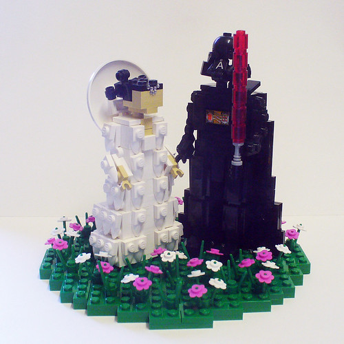 Vader and Amidala on Flower Patch 1a