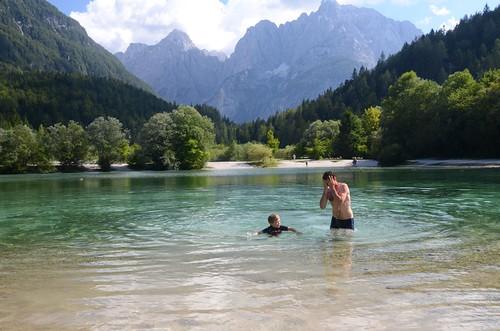 Slowenien: Jasna-See