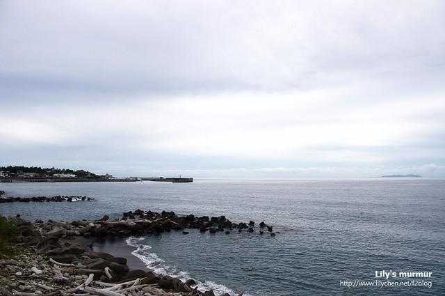 在巴哇沙力部落附近拍到的風景,左邊遠處就是富崗碼頭了。