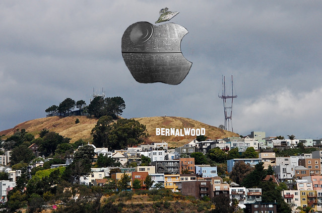 Apple's Death Star Looms over Bernal Heights