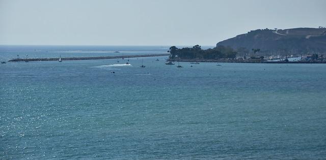Overlooking Dana Point Harbor