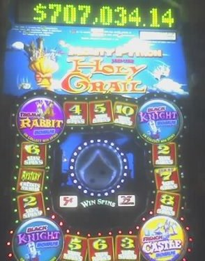 Monty Python and the Holy Grail slots