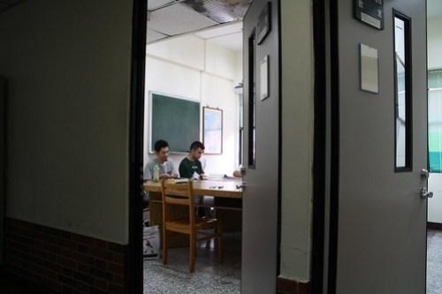[台湾2.5] そして静かに授業を待つ。