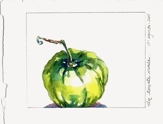 Un Tomate Verde