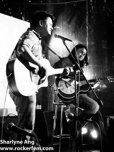 Vin Dancel and Kakoy Legaspi at Folk U