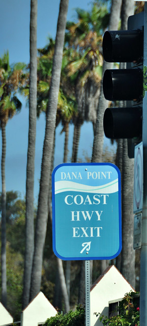 Dana Point Sign.