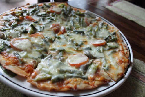 Pinakbet Pizza at Herencia Cafe - 2