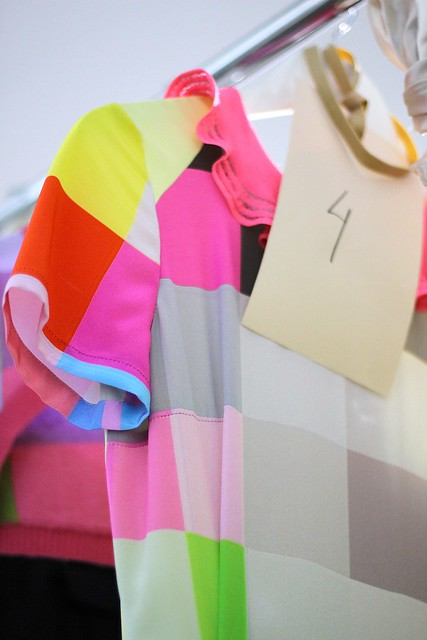 Sneak Peek: Preen Backstage S/S 2012