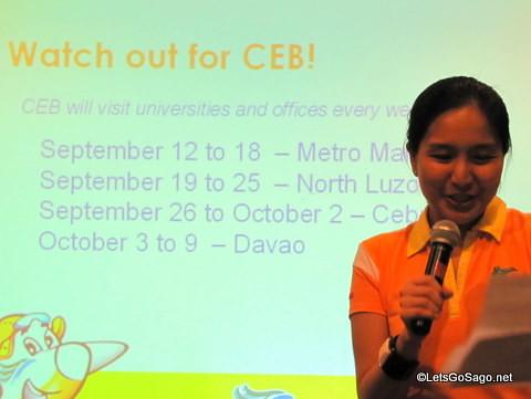 CEB Schedule