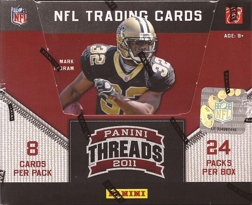 2011 Panini Threads box