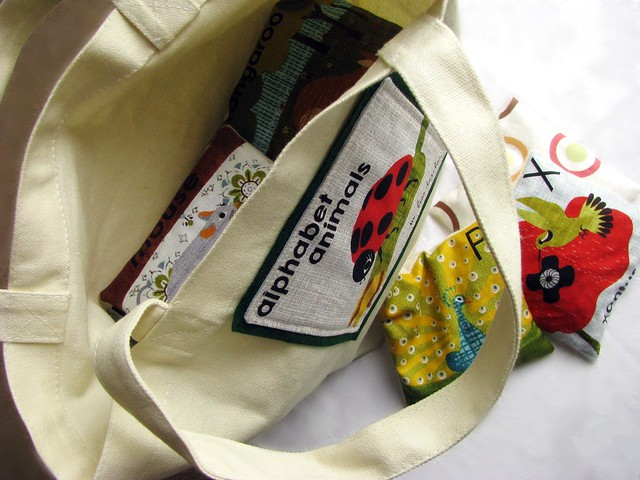 Animal Alphabet Bean Bags