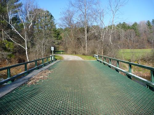 Iron bridge over west branch