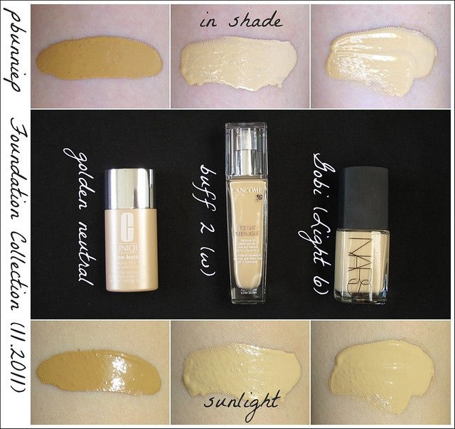 Foundation Swatch--Department Store