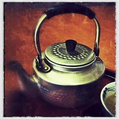 Old fashioned kettle, beautiful