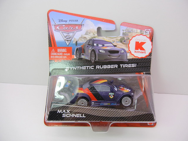 disney cars 2 kmart collector event #7 max schnell