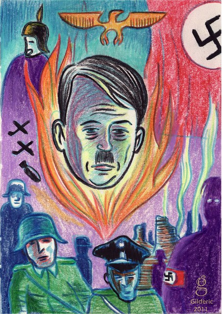 Hitler : Apocalypse - Illustration : Gilderic