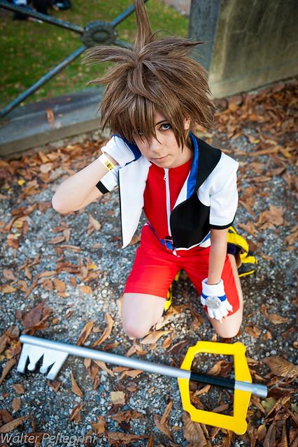 Sora cosplay