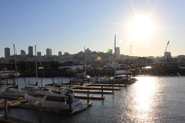 San Francisco city sunshine
