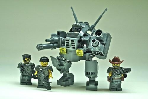 """C.O.G. """"Sasquatch"""" battlemech (1)"""