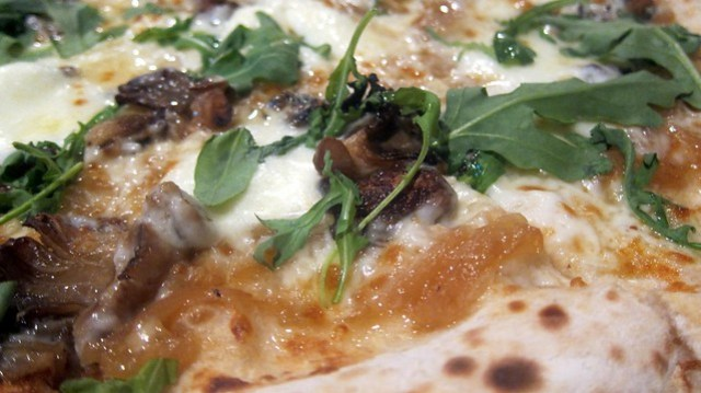 tartufo pizza zoom at tartufo pizzeria